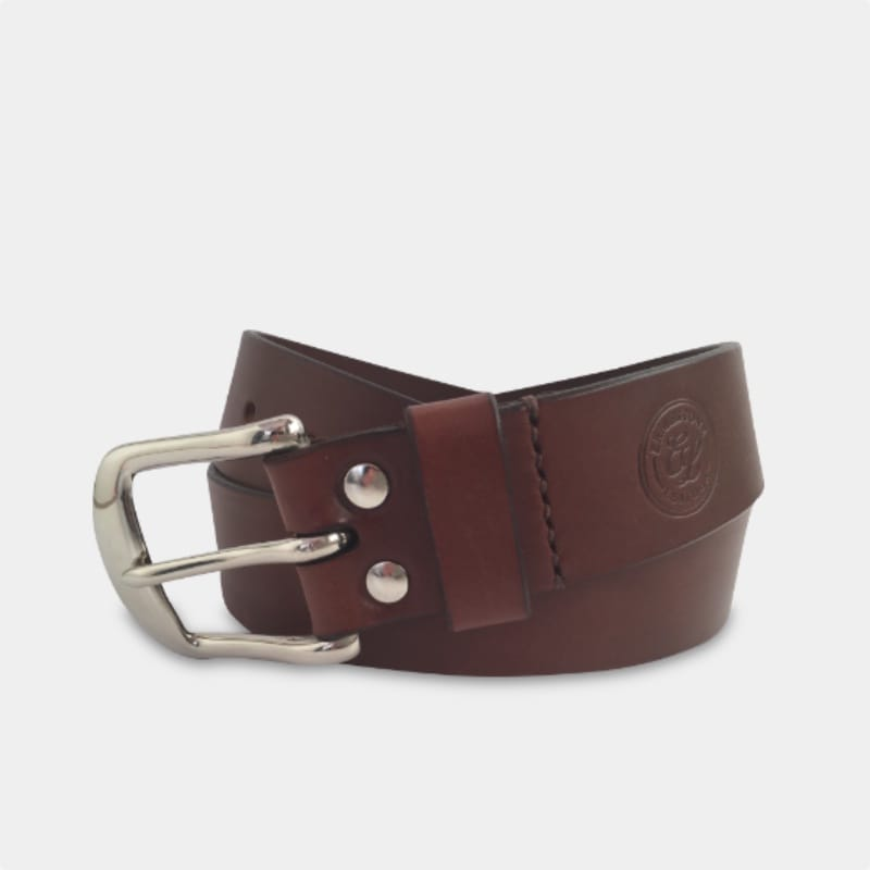 Handmade Leather Goods - For Him Belt (Mobile)