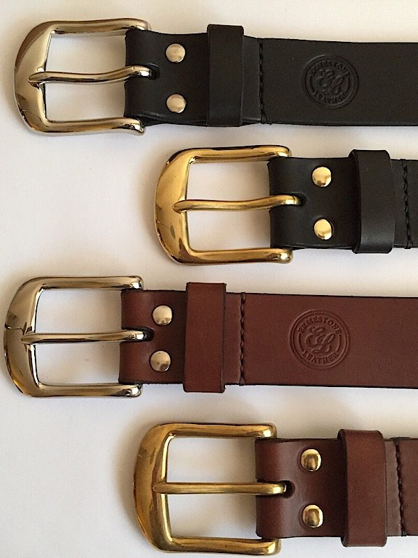 Black and Brown Meavy belts